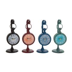 Mind Blowing Metal Table Clock 4 Assorted