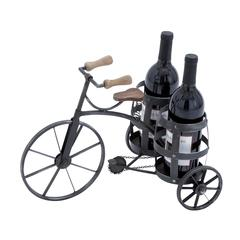 Wine Holder In Black With Solid And Durable Construction