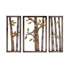 Attractive Styled Classy Metal Wall Plaque