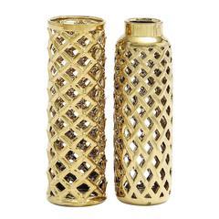 Exclusive Styled Shanghai Ceramic Vase 2 Assorted