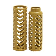 Benzara Extremely Useful Ceramic Vase 2 Assorted