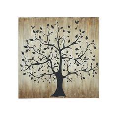 Benzara Tree Themed Classy Canvas Wall Art