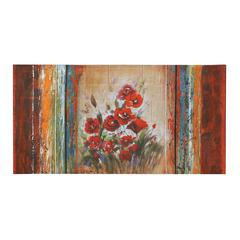 Benzara The Rose Canvas Art