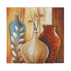 Benzara Contemporary Styled Attractive Canvas Art