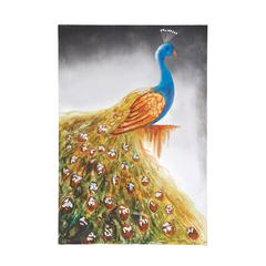 The Peacock Canvas Art