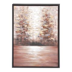The Mysterious Wood Framed Canvas Art