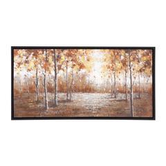 Benzara The Brilliant Wood Frame Canvas Art