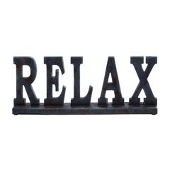 "Wooden ""Relax"" Table Top With Lustrous Appearance"