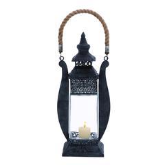 Benzara Attractive Contemporary Styled Metal Lantern