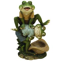 Polystone Leap Frog For Aqua Table Decor
