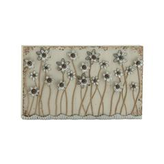 "Benzara Blossoming Wood Metal Wall Plaque 46""W, 28""H"