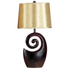 Polystone Table Lamp For Stylish Light