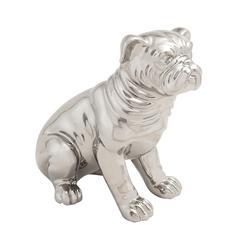 Benzara Lovable Ceramic Dog Sculpture