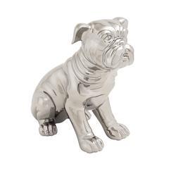Benzara Attractively Designed Ceramic Dog Sculpture