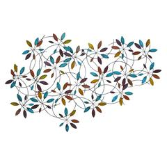 Classic Metal Leaf Wall Decor With Modern Style