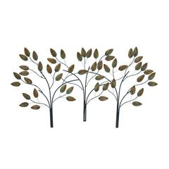 Metal Leaf Decor In Rectangular Shape With Modern & Classy Look