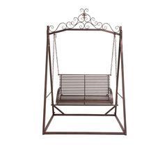 The Cool Metal Garden Swing