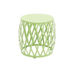 Benzara The Different Metal Green Accent Table