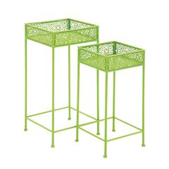 Attractive Styled Metal Plant Stand