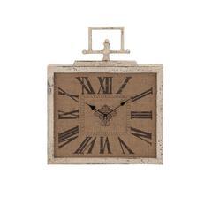 Benzara Contemporary Styled Attractive Metal Wall Clock