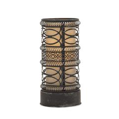 Benzara Contemporary Styled Metal Accent Lamp