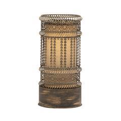 Exquisite Metal Accent Lamp