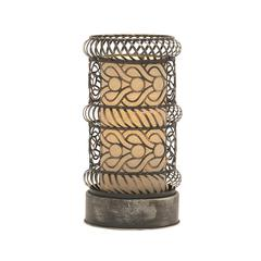 Captivating & Unique Styled Metal Accent Lamp