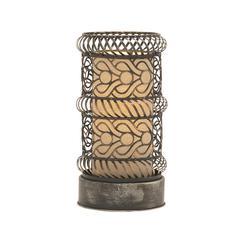 Benzara Captivating & Unique Styled Metal Accent Lamp