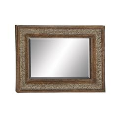 Sparkling & Unique Styled Metal Wall Mirror