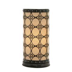 Charming Metal Paper Table Lamp