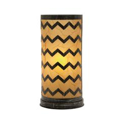 Benzara Gorgeous Metal Paper Table Lamp