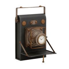 Benzara Unique And Antique Camera Themed Desk Clock