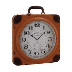 Benzara Eye – Catching Metal Table Clock