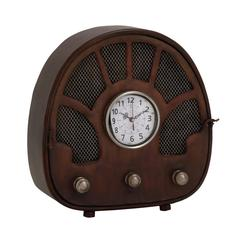 Benzara Fascinating Styled Berlin Metal Table Clock