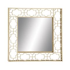 Benzara Amazing Styled Fancy Metal Wall Mirror