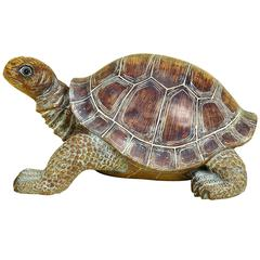 Benzara Polystone Turtle 15 Inches Wide For Table Decor
