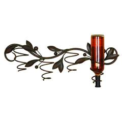 Metal Wall Wine Holder Stylish Wine Management