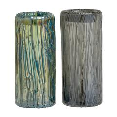 Accustomed Styled Fancy Glass Vase 2 Assorted
