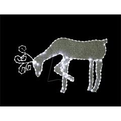 "Benzara 21"" Grazing Reindeer With 144 Led Lights Decoration"