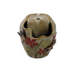 "Benzara Ceramic Tabletop Fountain 7""H"