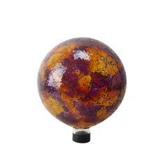 "10"" Mosaic Gazing Globe (Pink/Yellow/Red)"