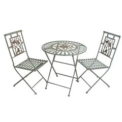Benzara Birds On Branches Bistro Set (1 Table And 2 Chairs)