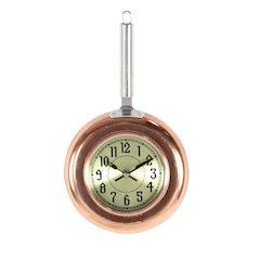 Metal Copper Wall Clock, Small