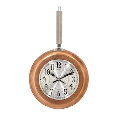 Metal Copper Wall Clock, Medium
