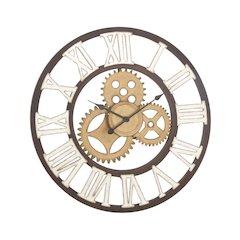 Old School Metal Wall Clock