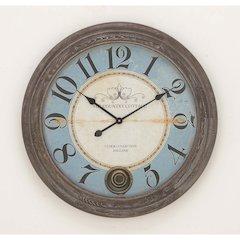 Stunning Wood Metal Wall Clock