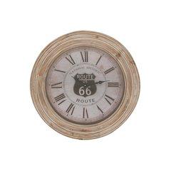 Distressed Finish Wood Wall Clock