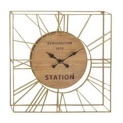 Classic Style Metal Wood Wall Clock