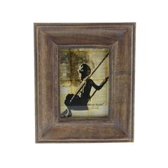 Somber Wood Picture Frame