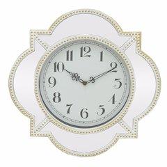 Wall Clock With Mirror Frame - Benzara